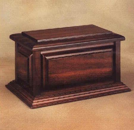 wood cremation urn plans